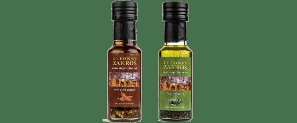 Huile d'olive aromatisée de Zakros-Sitia